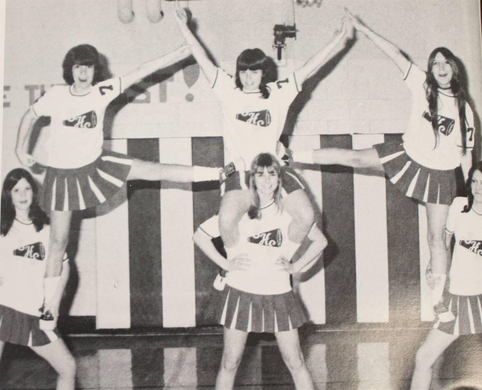 1975 Reserve Cheerleaders