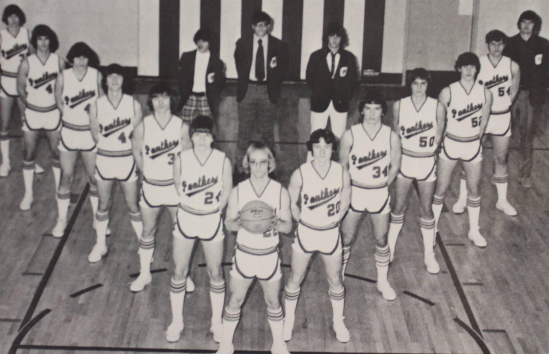 1975 Varsity Boys Basketball