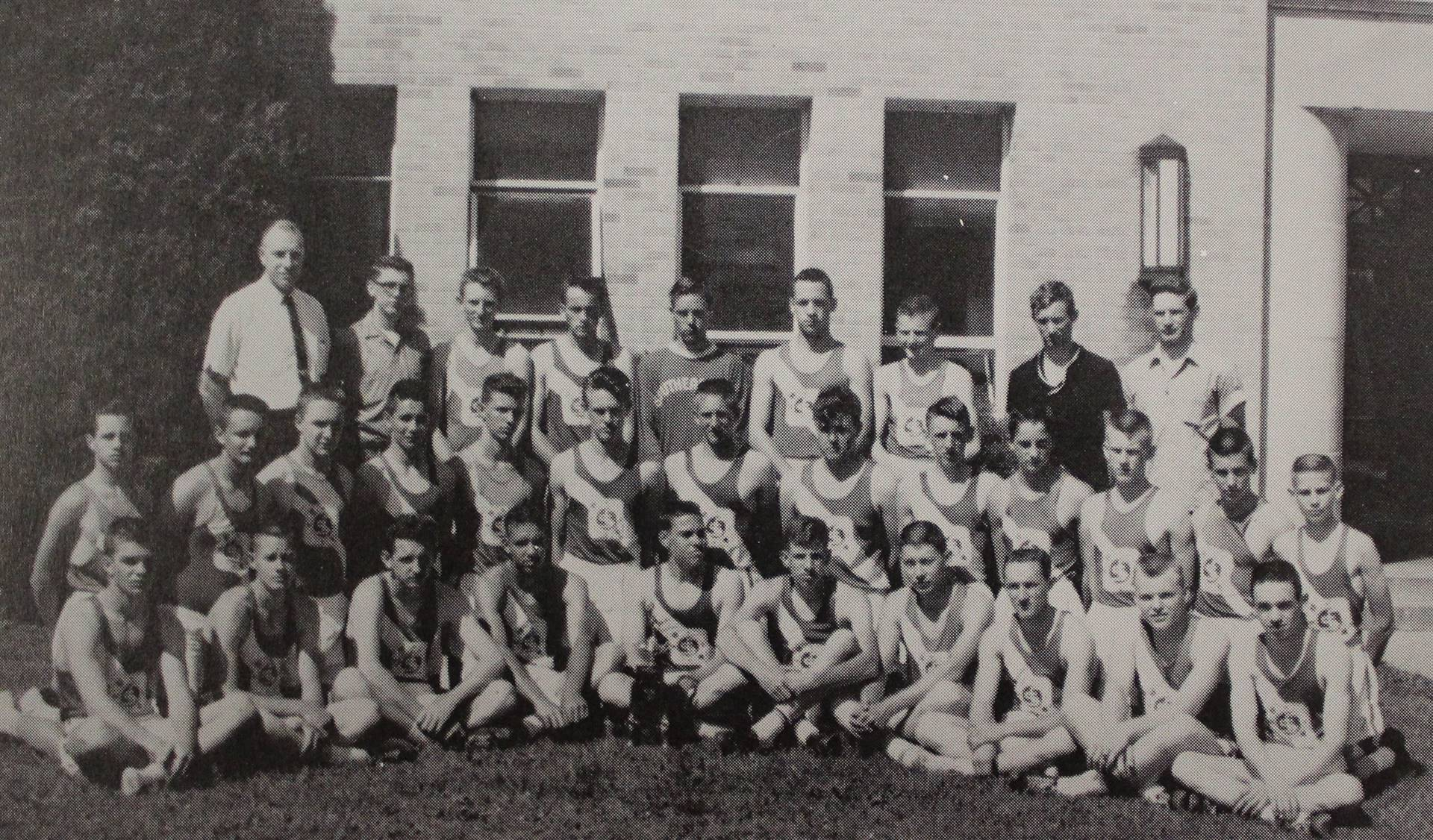 1963 Senior Track Team