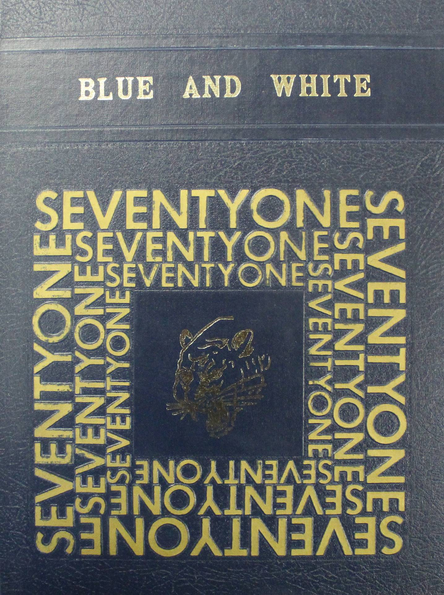 1971 Cover