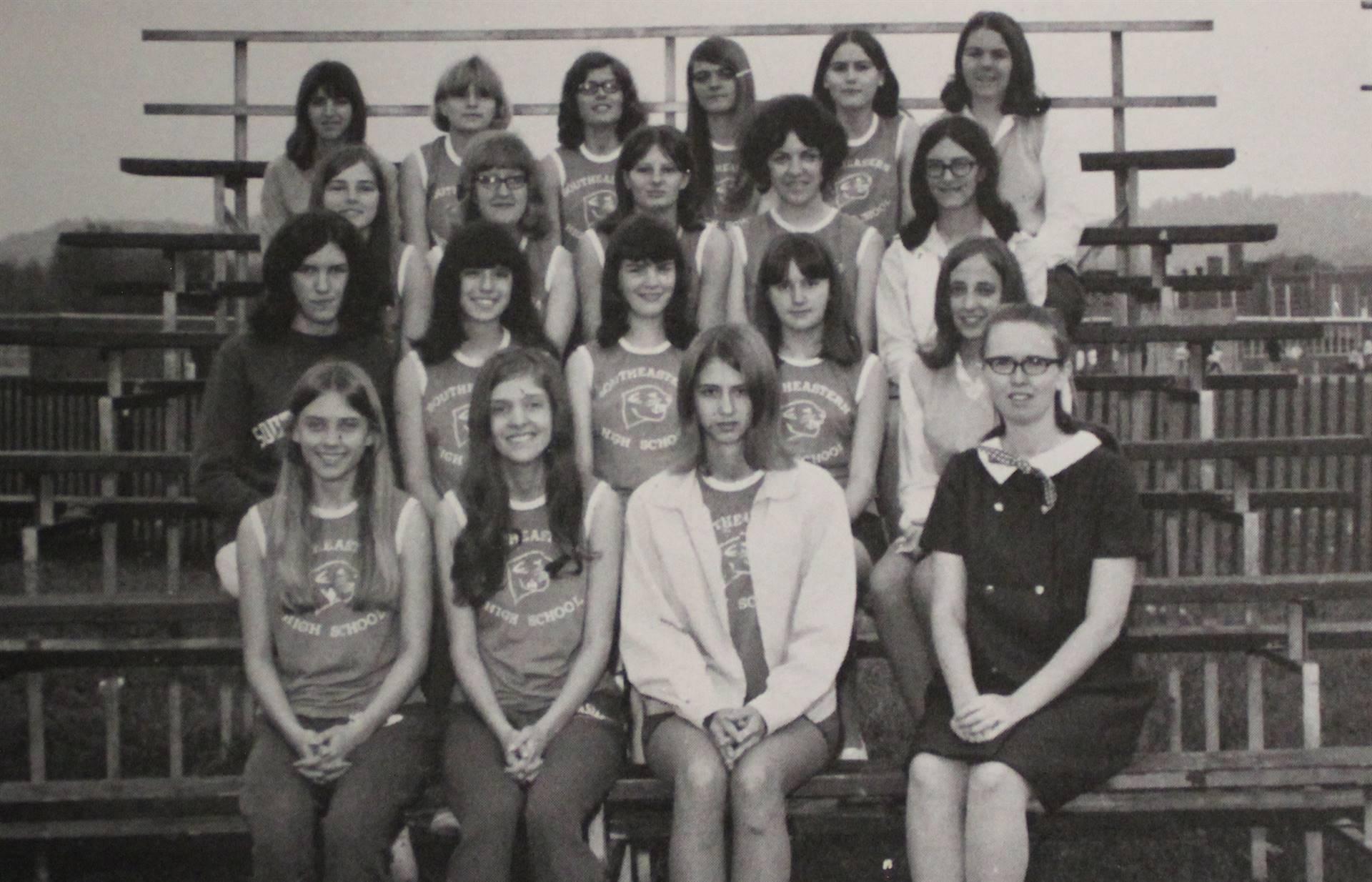 1971 Girls' Track