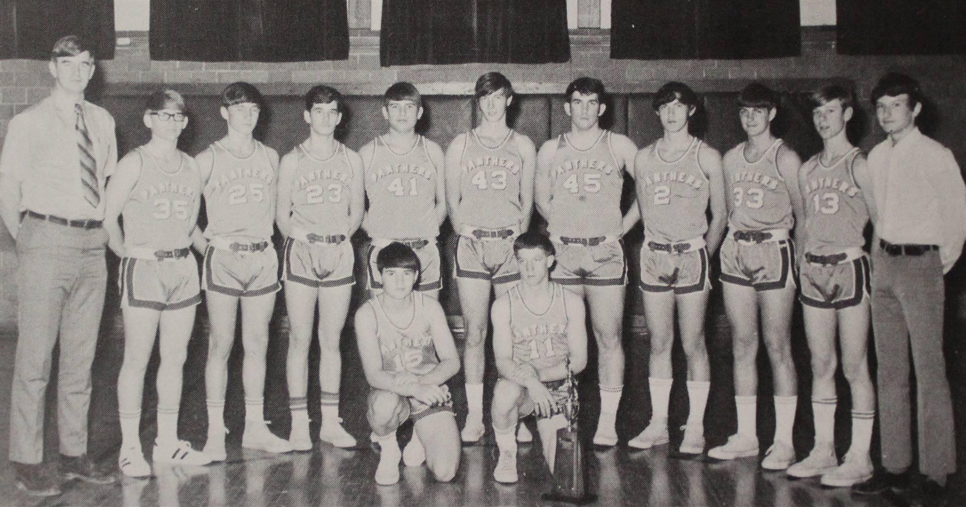 1971 Reserve Basketball