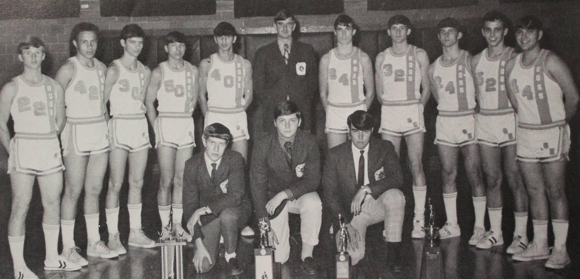 1971 Varsity Basketball