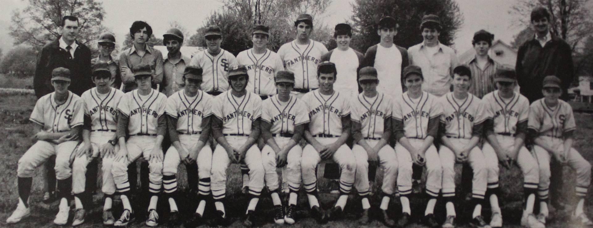 1971 Varsity Baseball