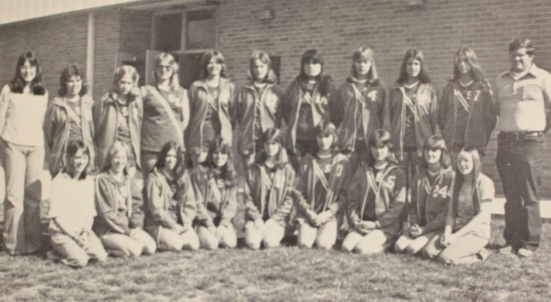 1976 Girls' Track