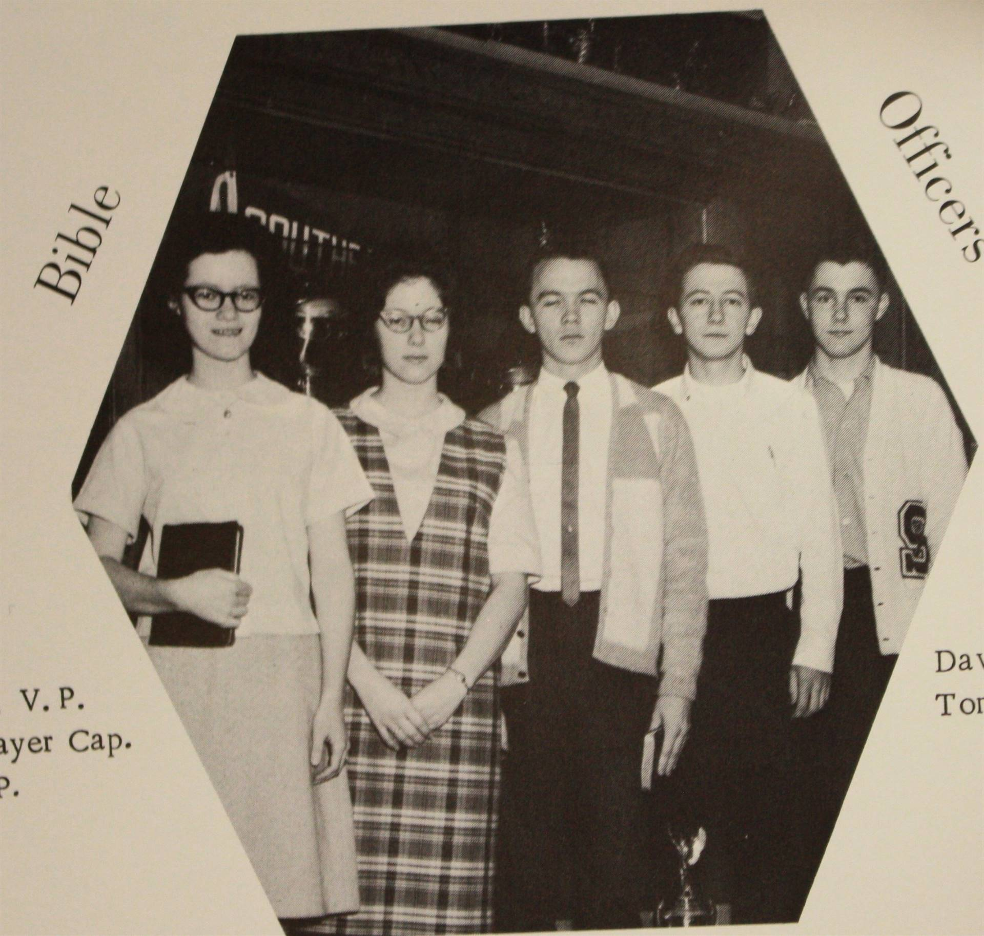 1966 Bible Club Officers
