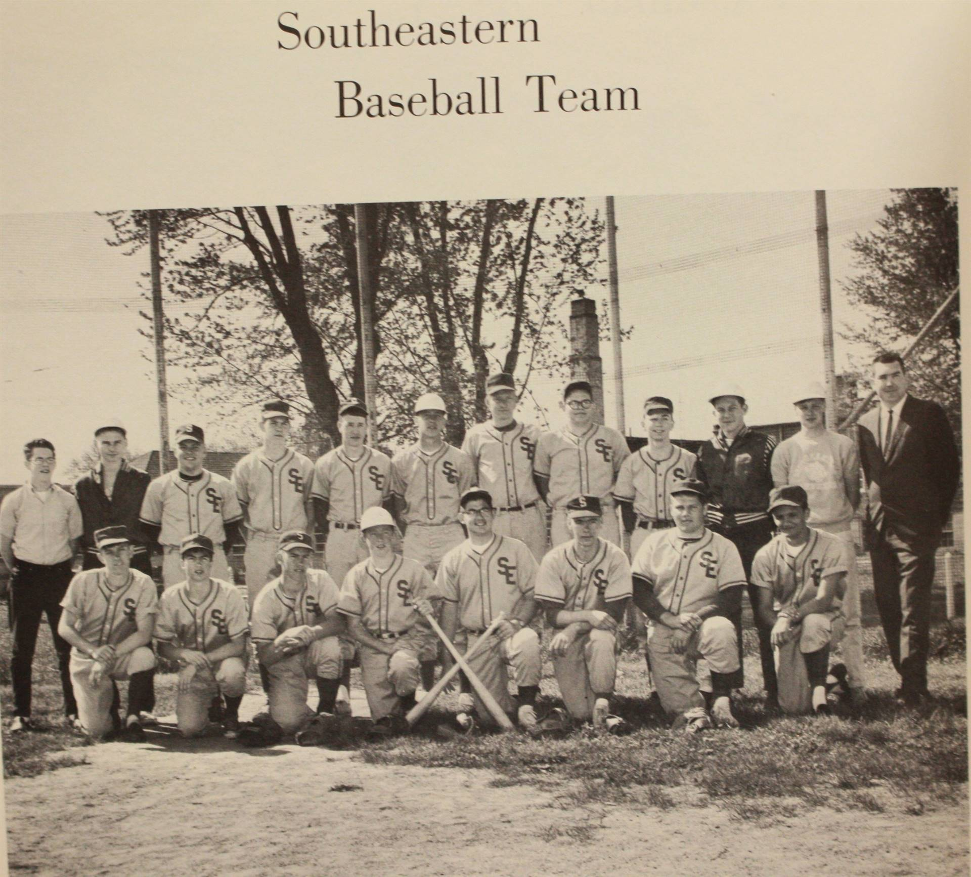 1966 Southeastern Baseball Team