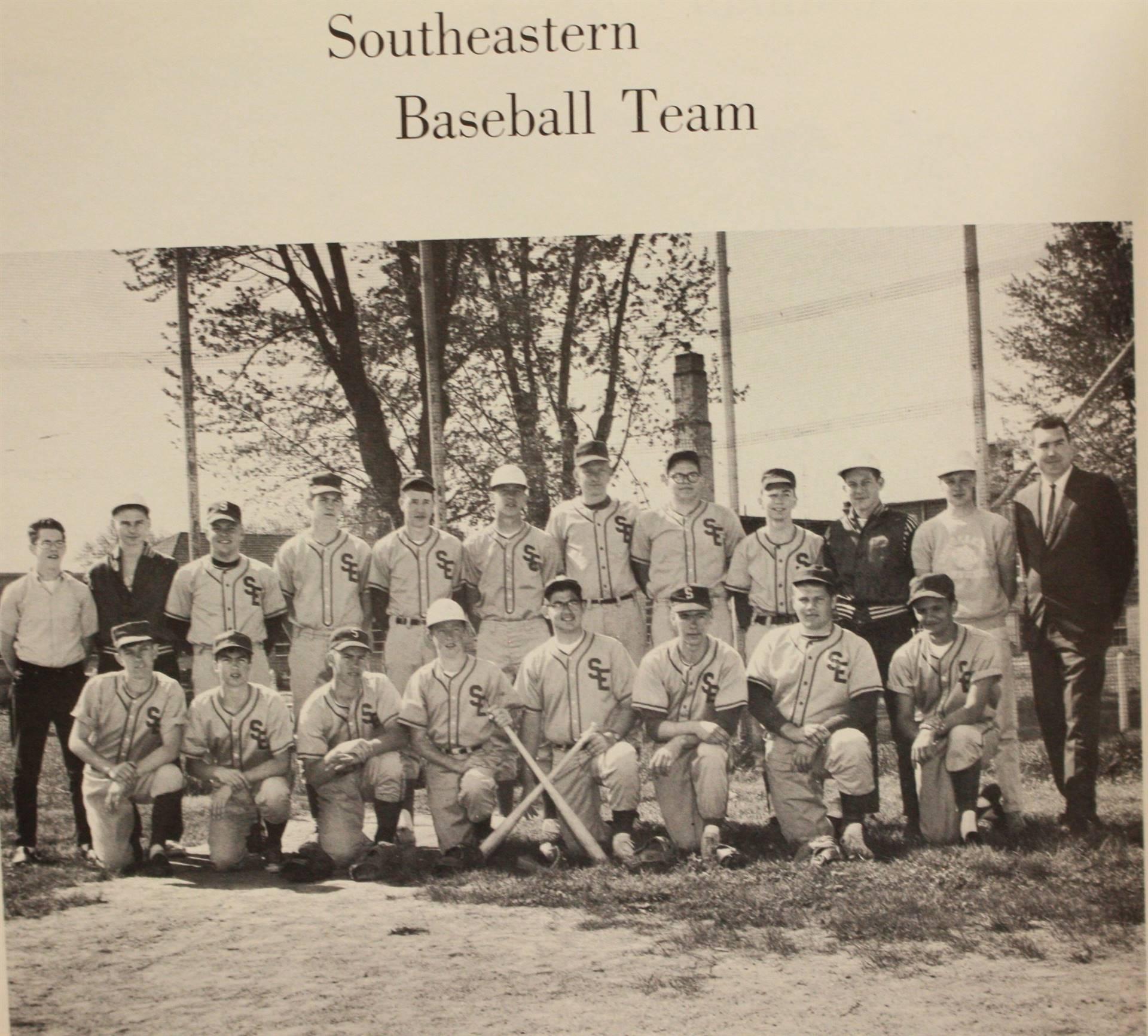 1966 Southeastern Baseball Team