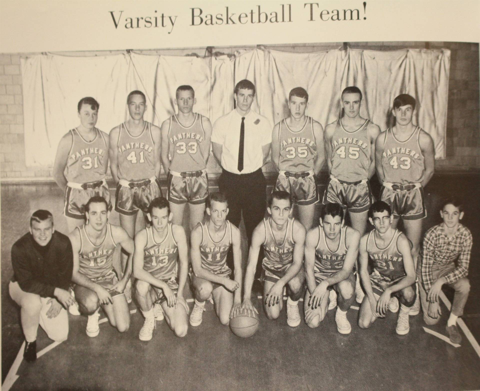1966 Varsity Basketball Team!