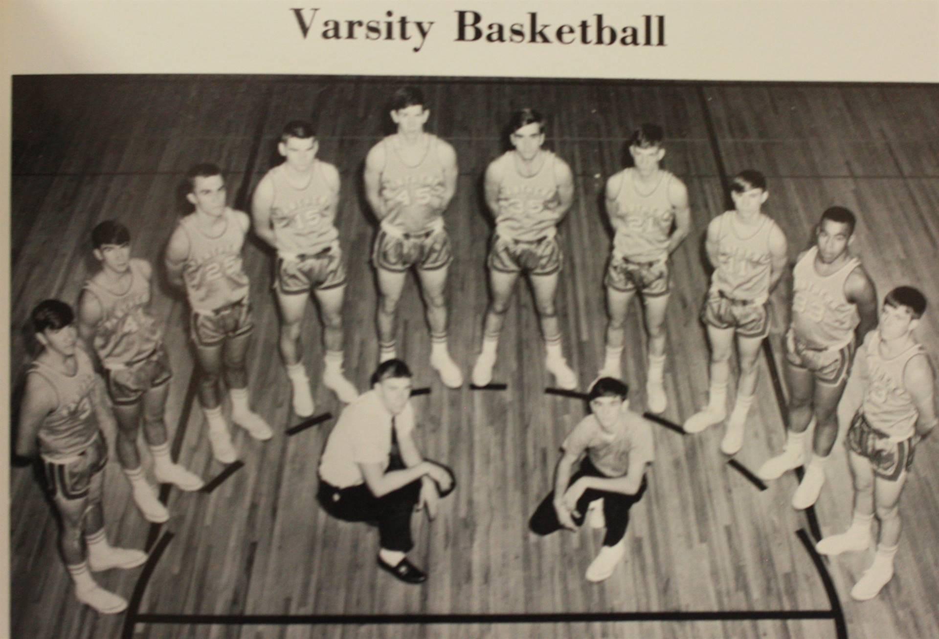 1968 Varsity Basketball