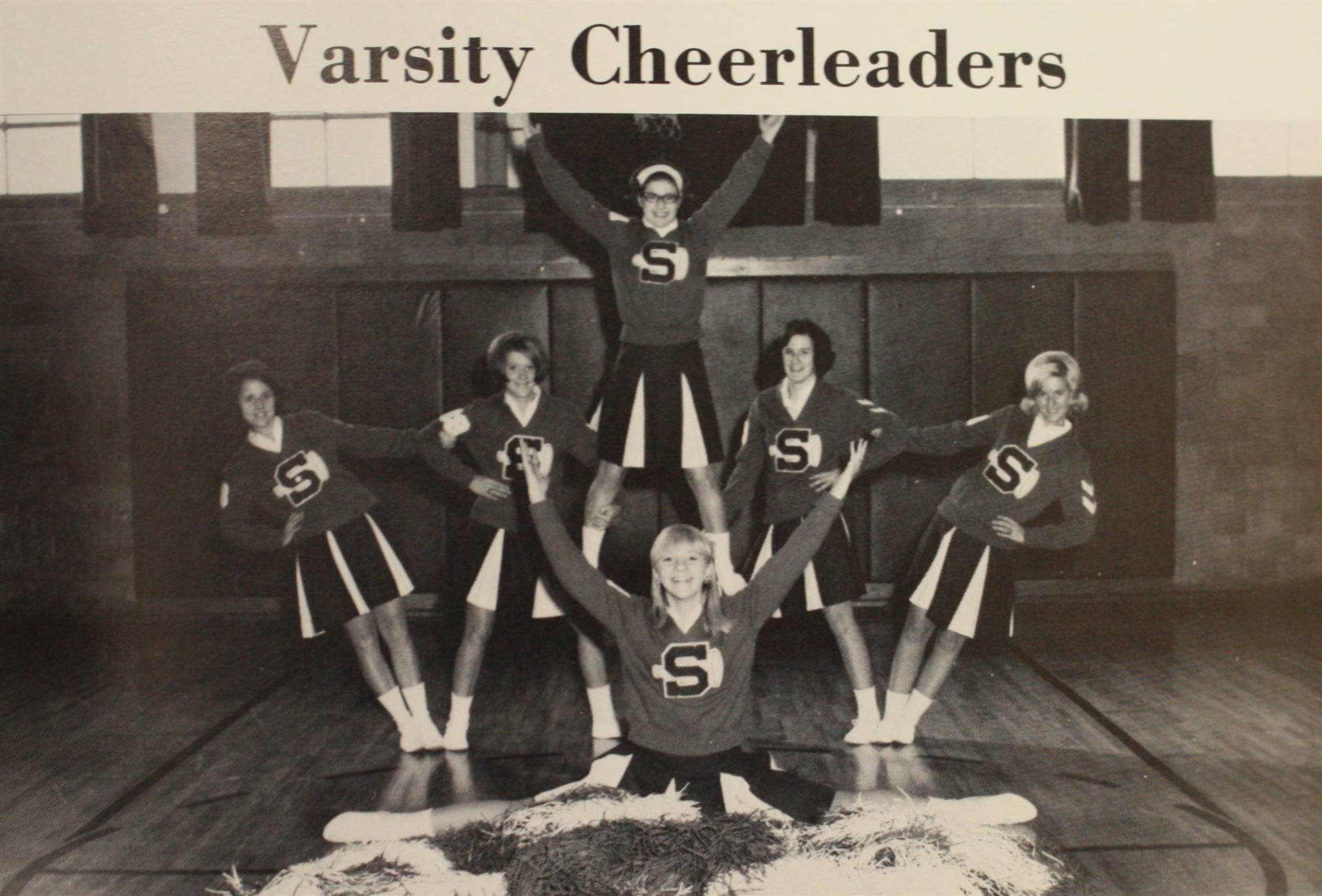 1968 Varsity Cheerleaders