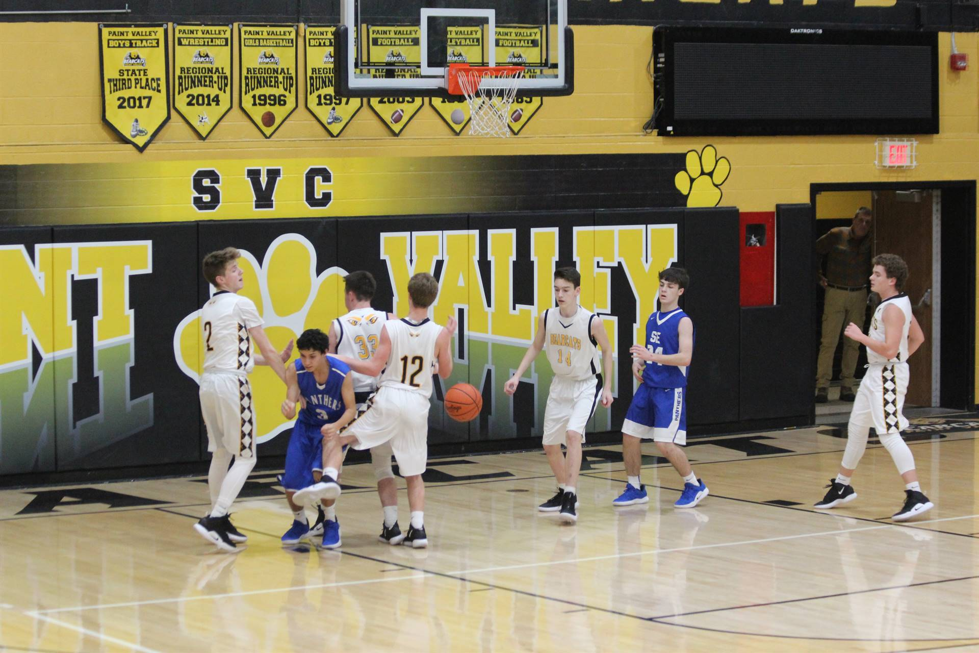SE Boys vs Paint Valley