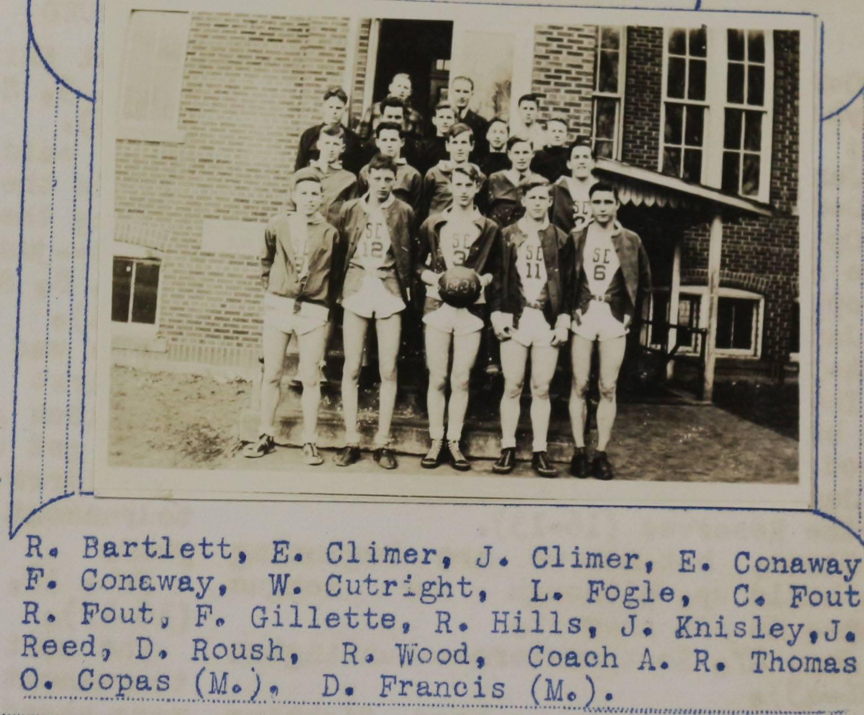 1939 Boy's Basketball