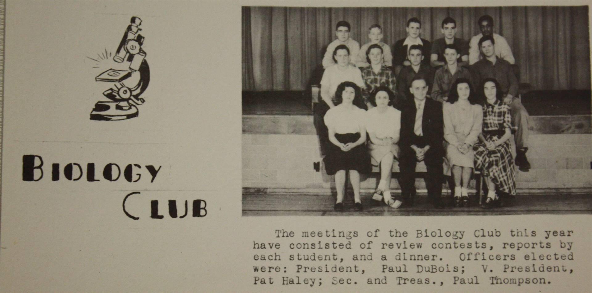 1948 Biology Club