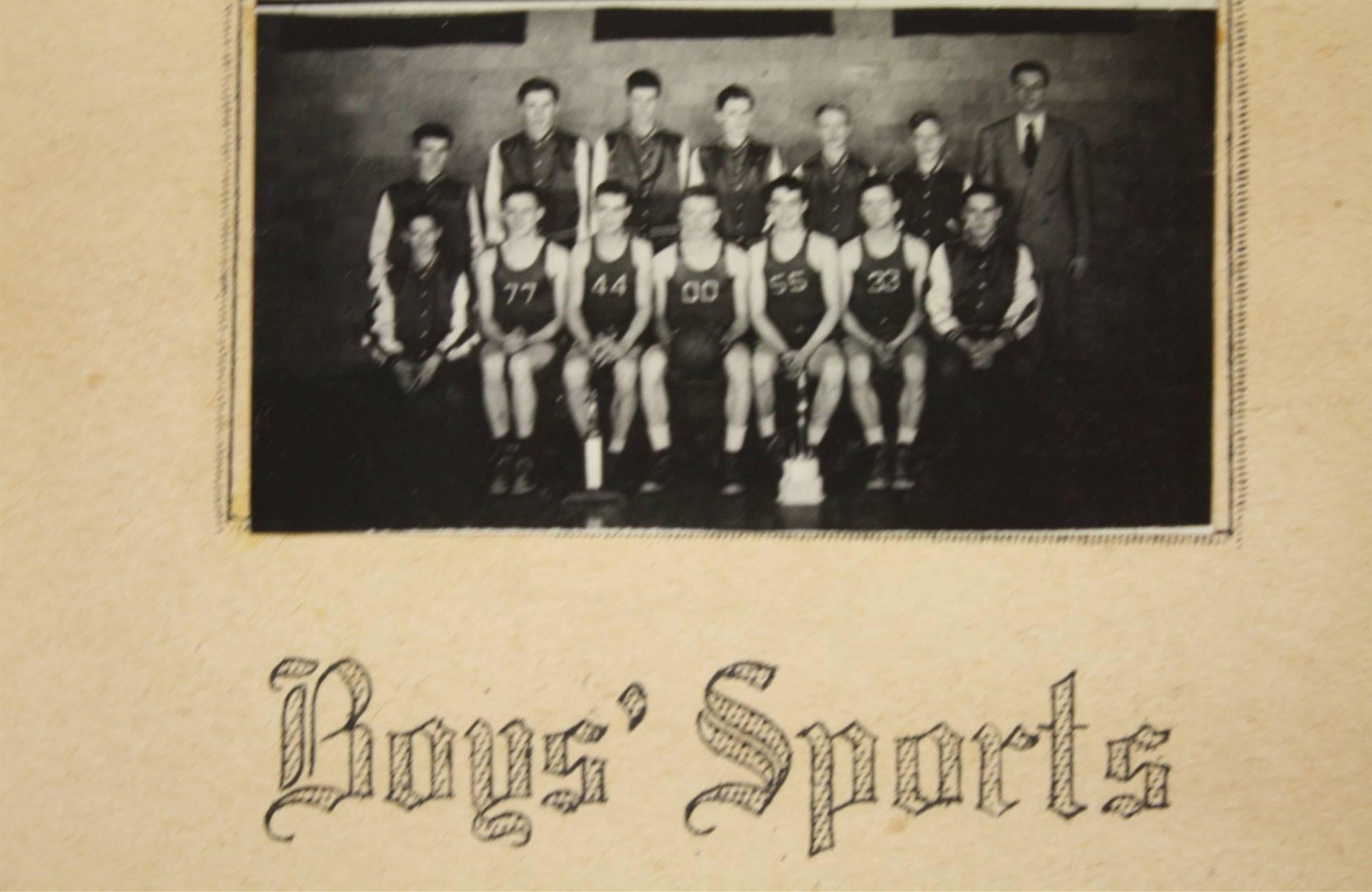 1949 Boys Sports