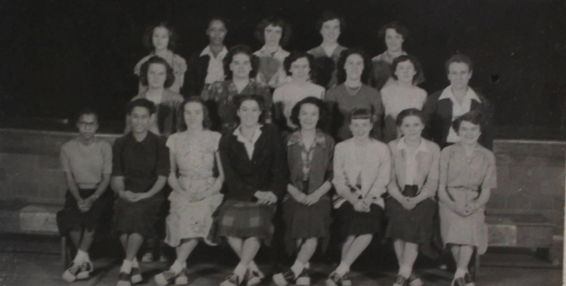1950 Girls Sports