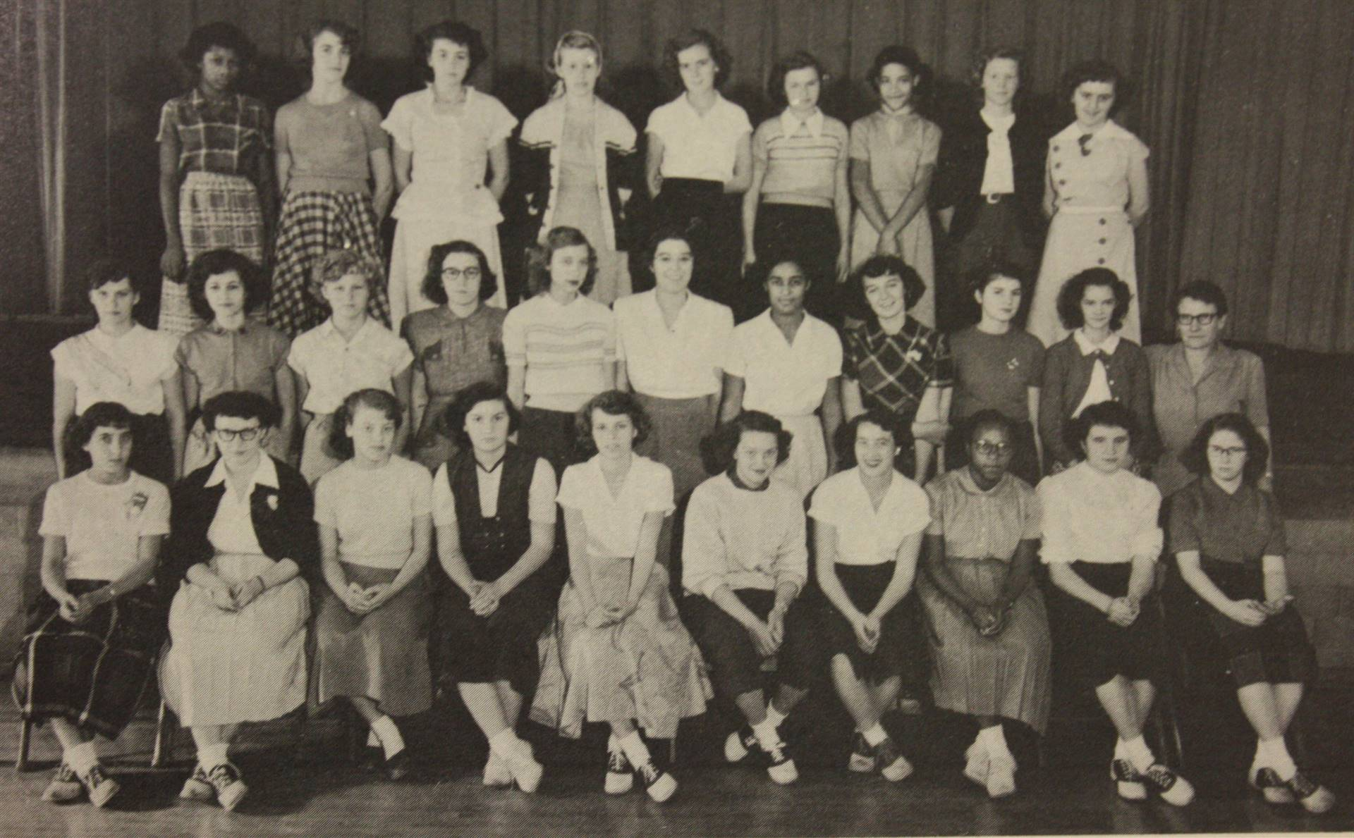1952 Girl's Sports