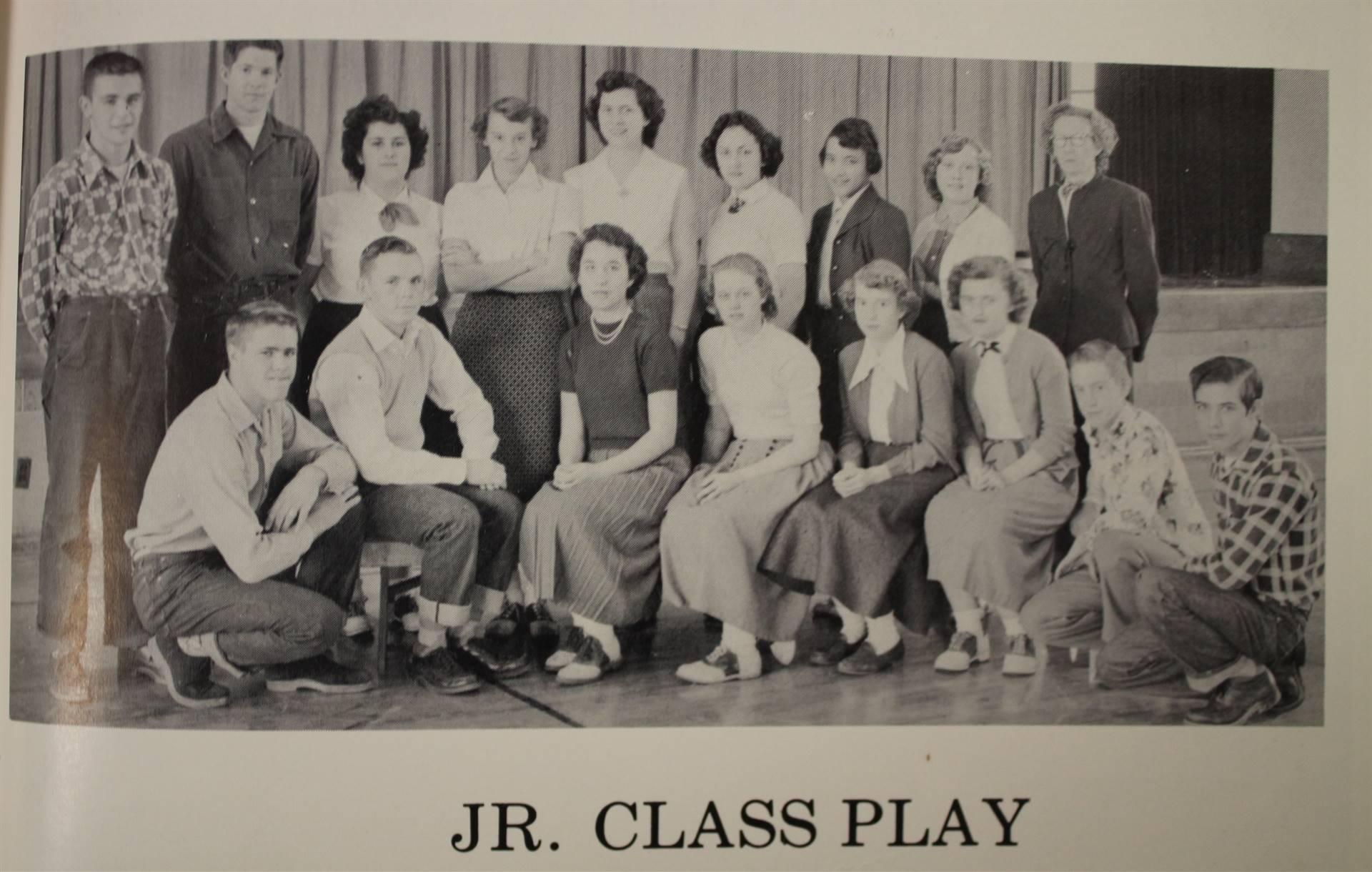 1954 Jr. Class Play