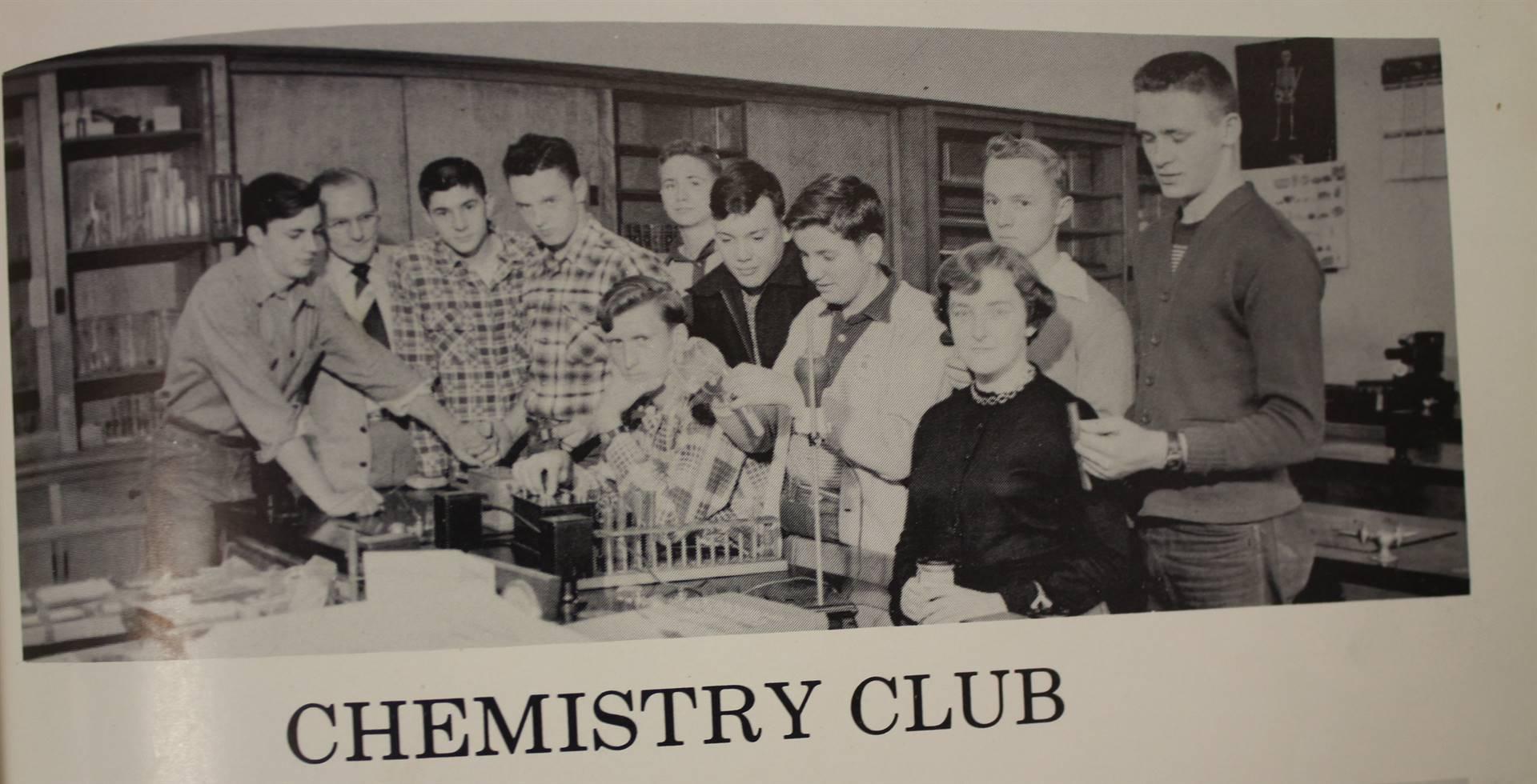 1954 Chemistry Club