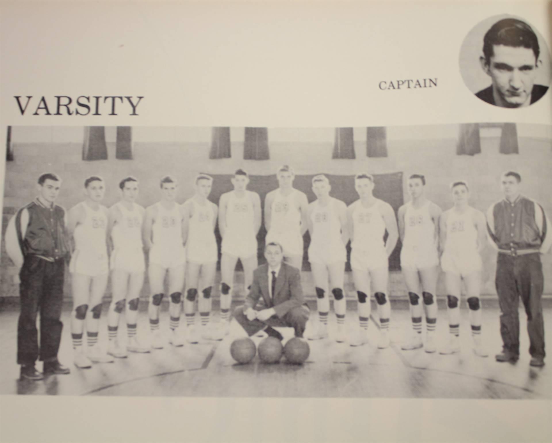 1954 Varsity Basketball