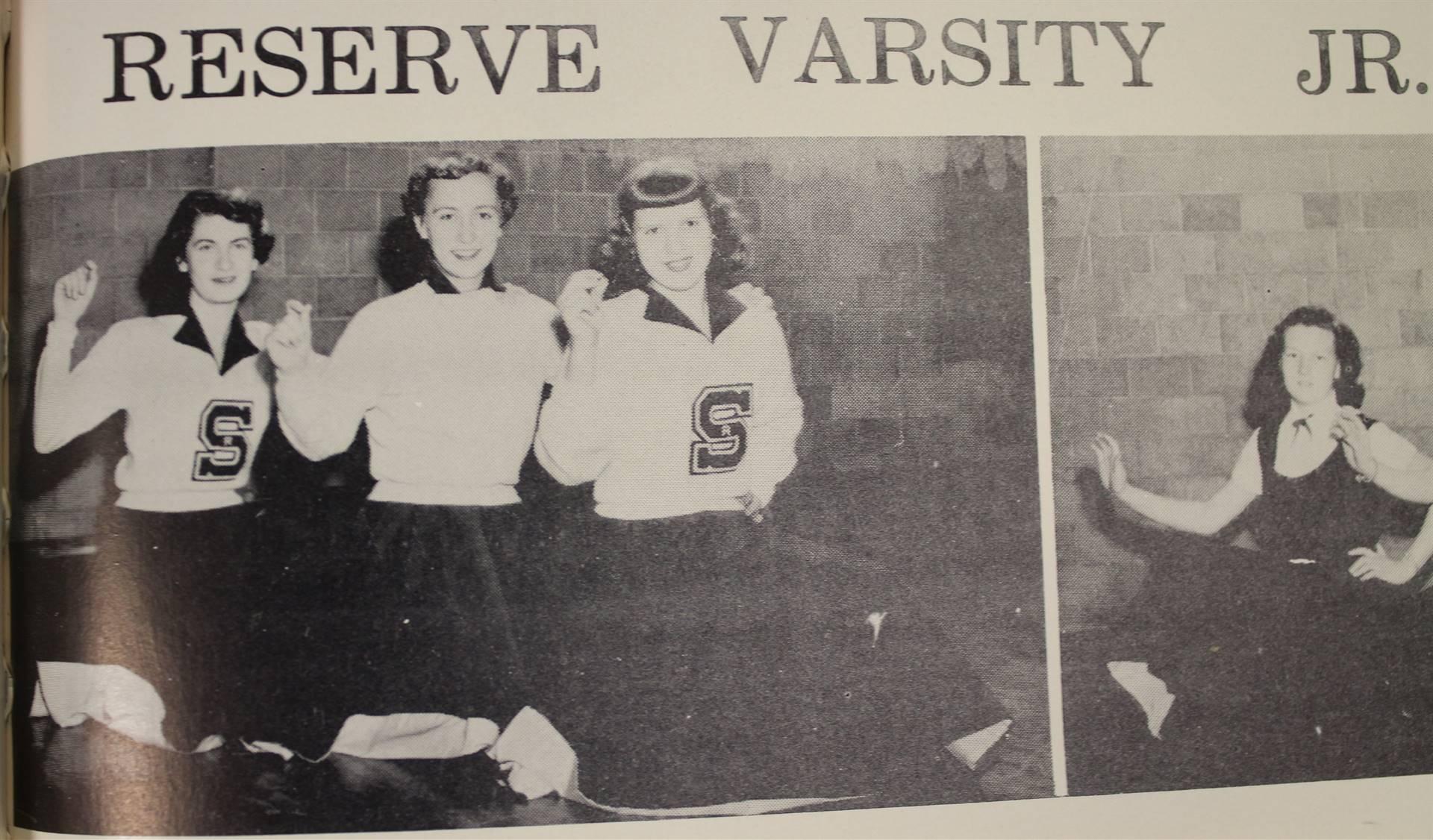 1954  Reserve Cheerleading