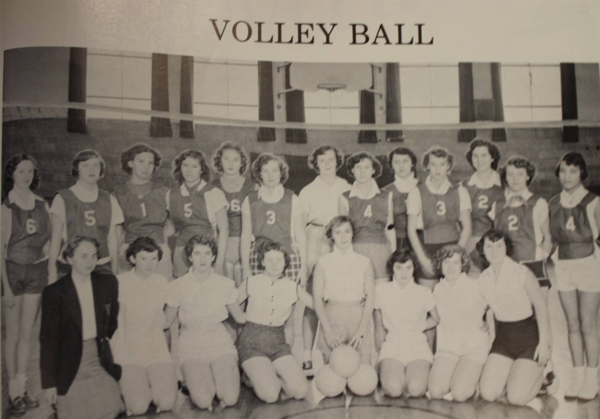 1954 Volleyball