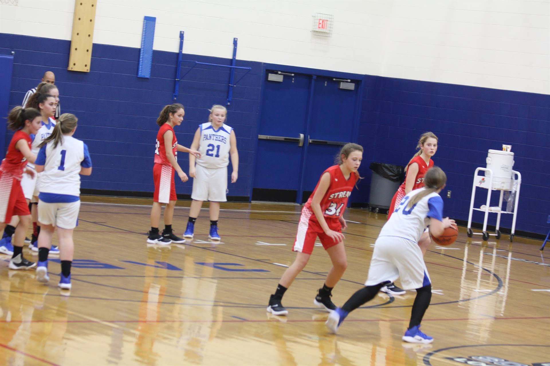 JH Girls vs Piketon