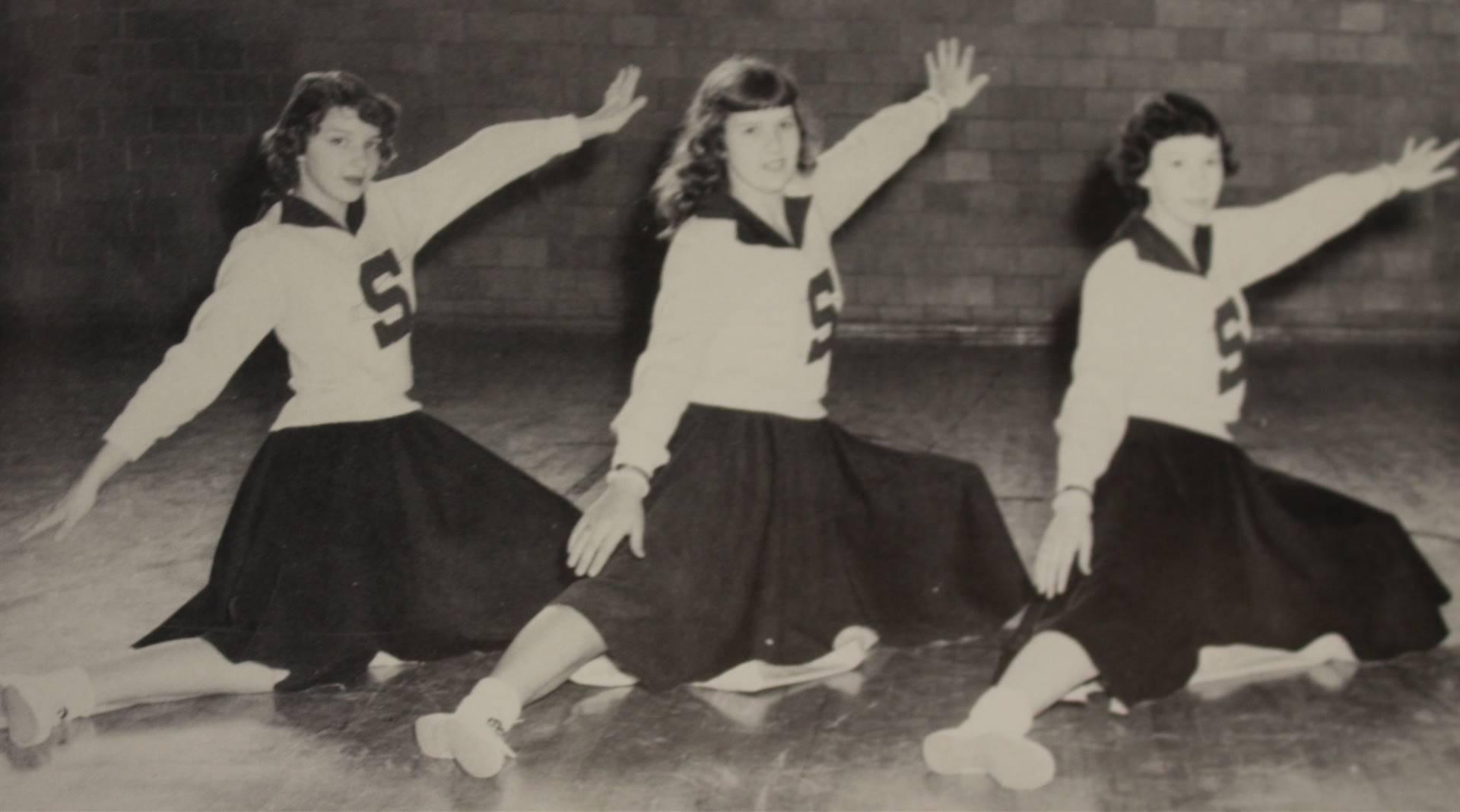 1956 Varsity Cheer