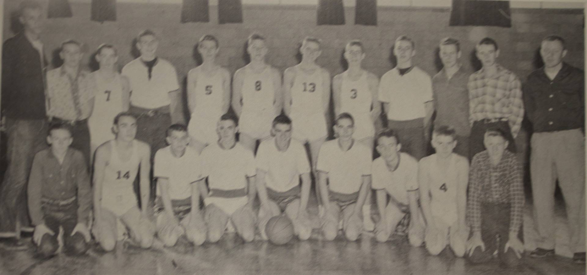 1956 Reserve Basketball