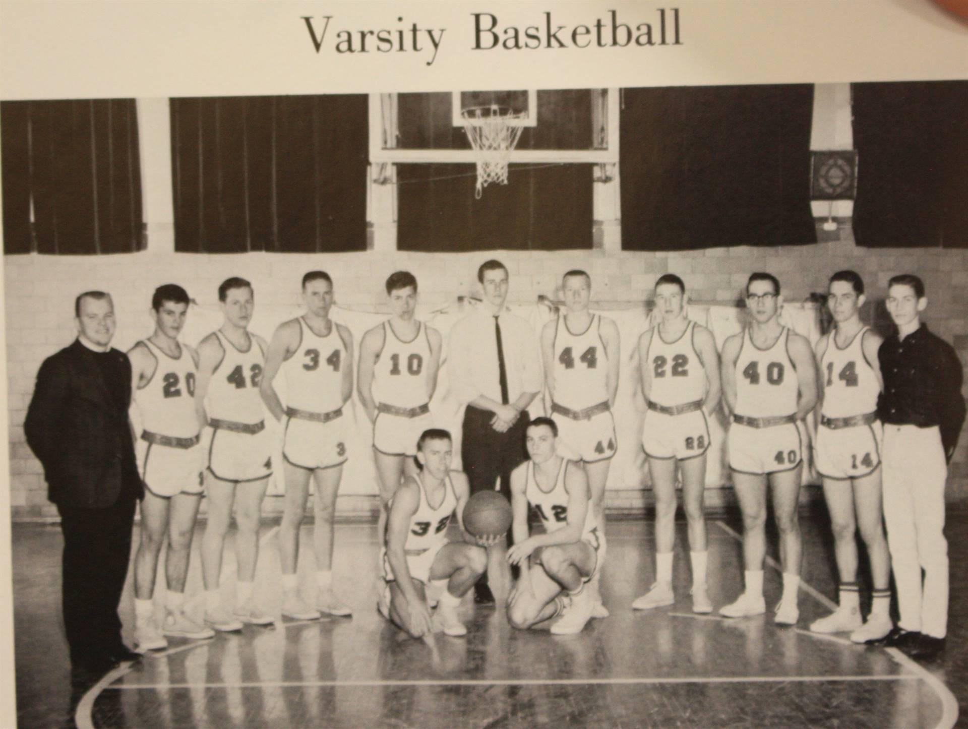 1965 varsity basketball