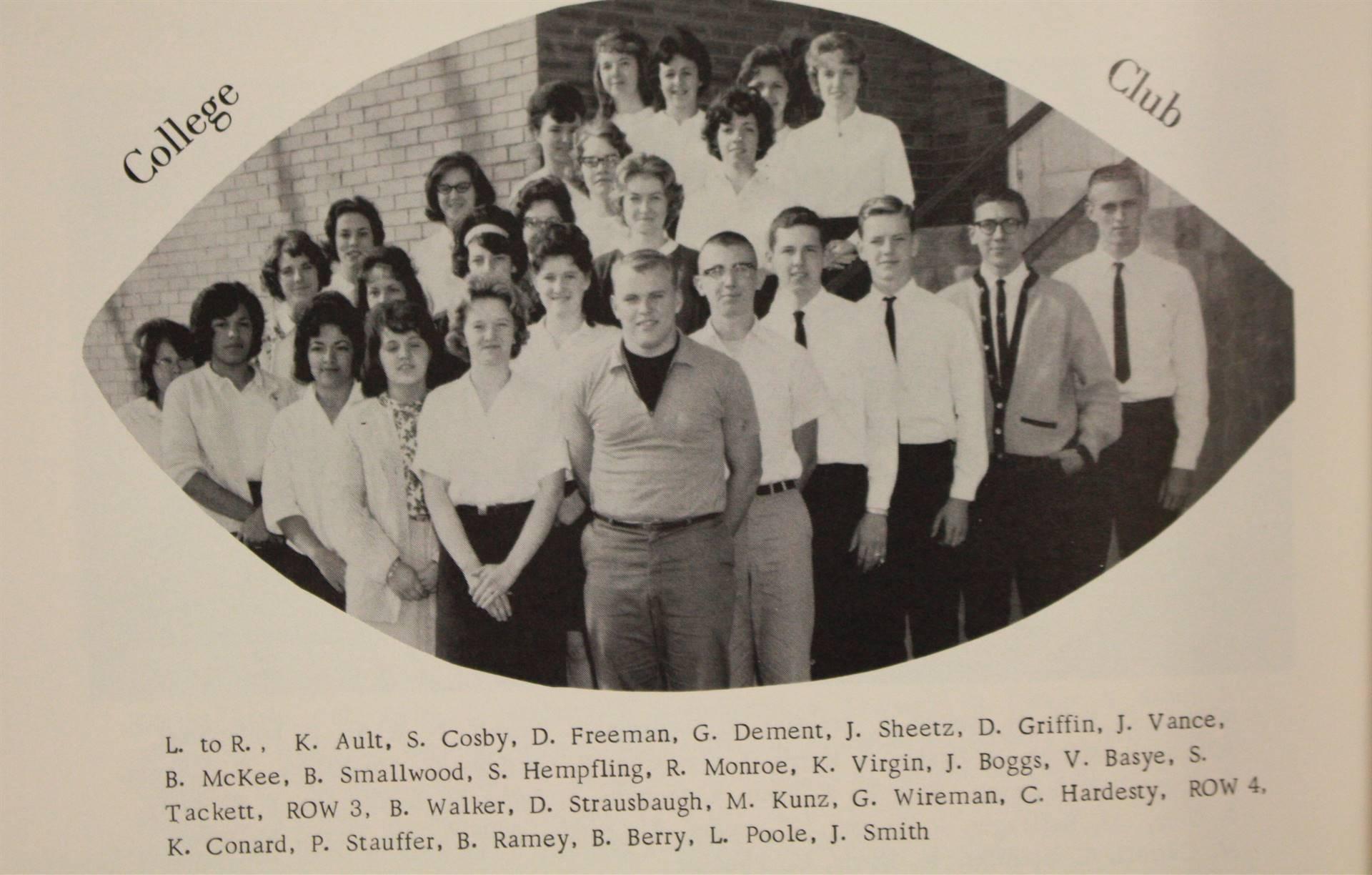 1965 college club