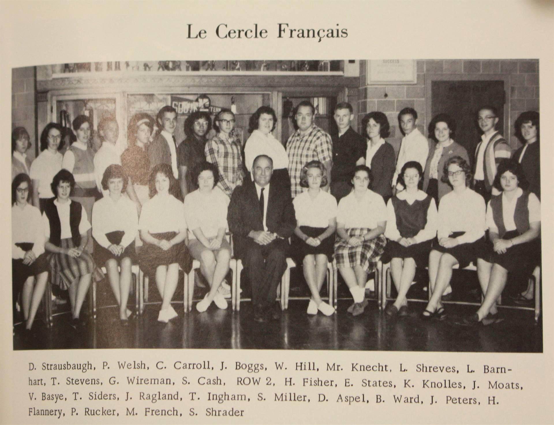 1965 Le Cercle Francais