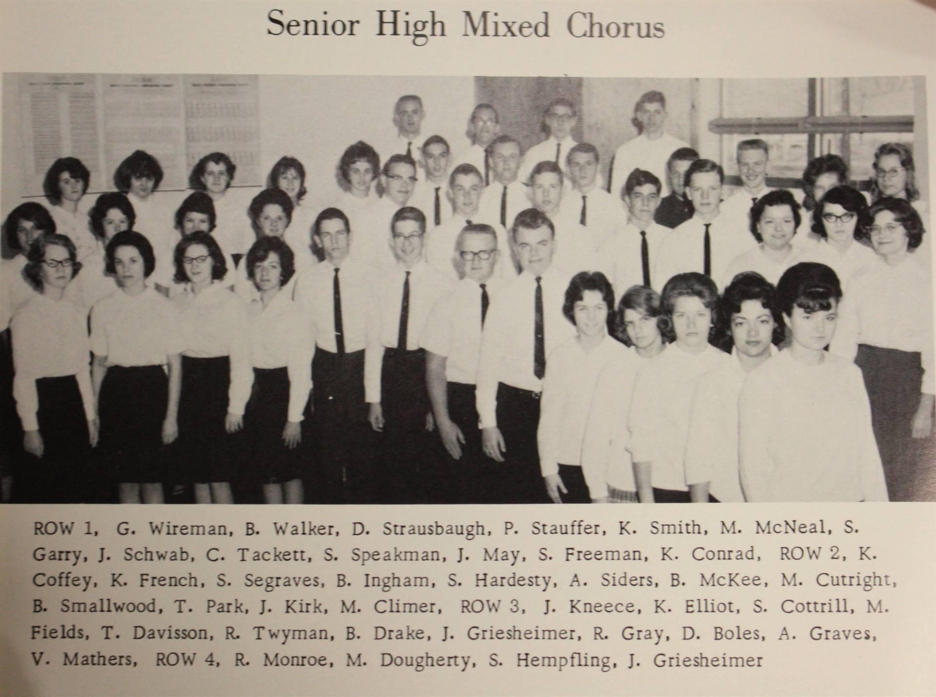 1965 senoir mixed chorus