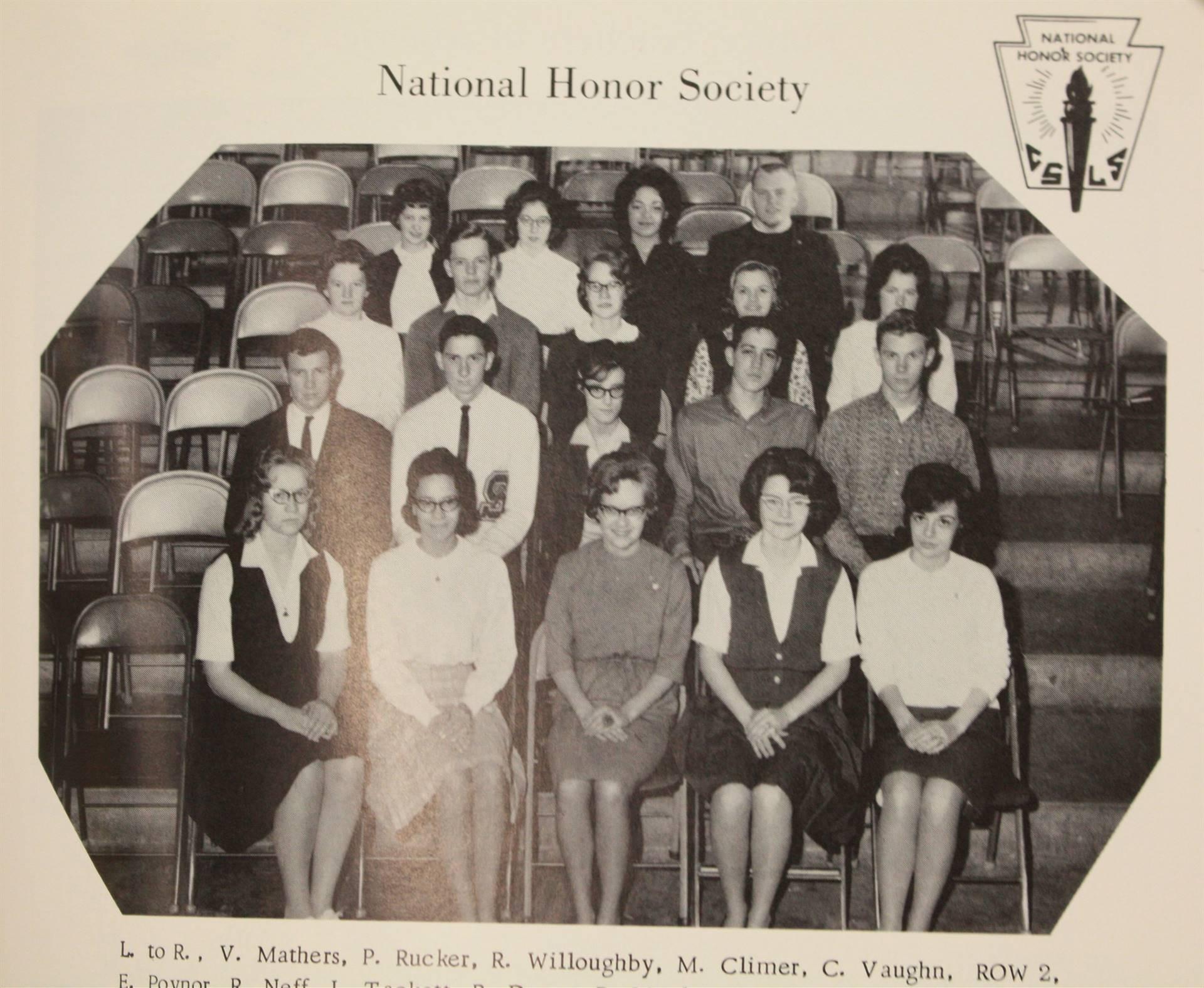 1965 national honor society