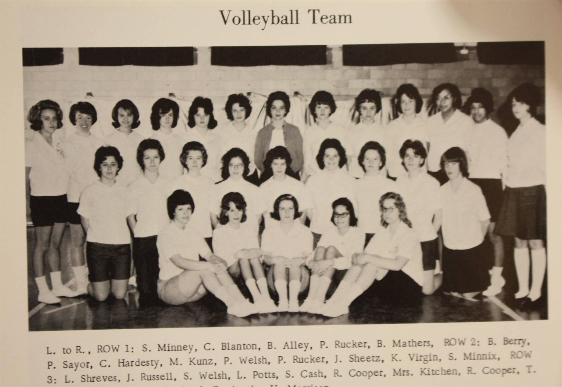 1965 volleyball team