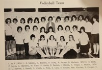 1965 volleyball team