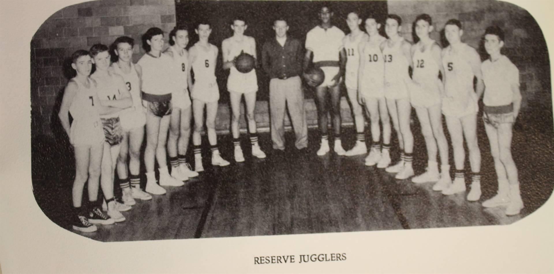 1955 Reserve Jugglers