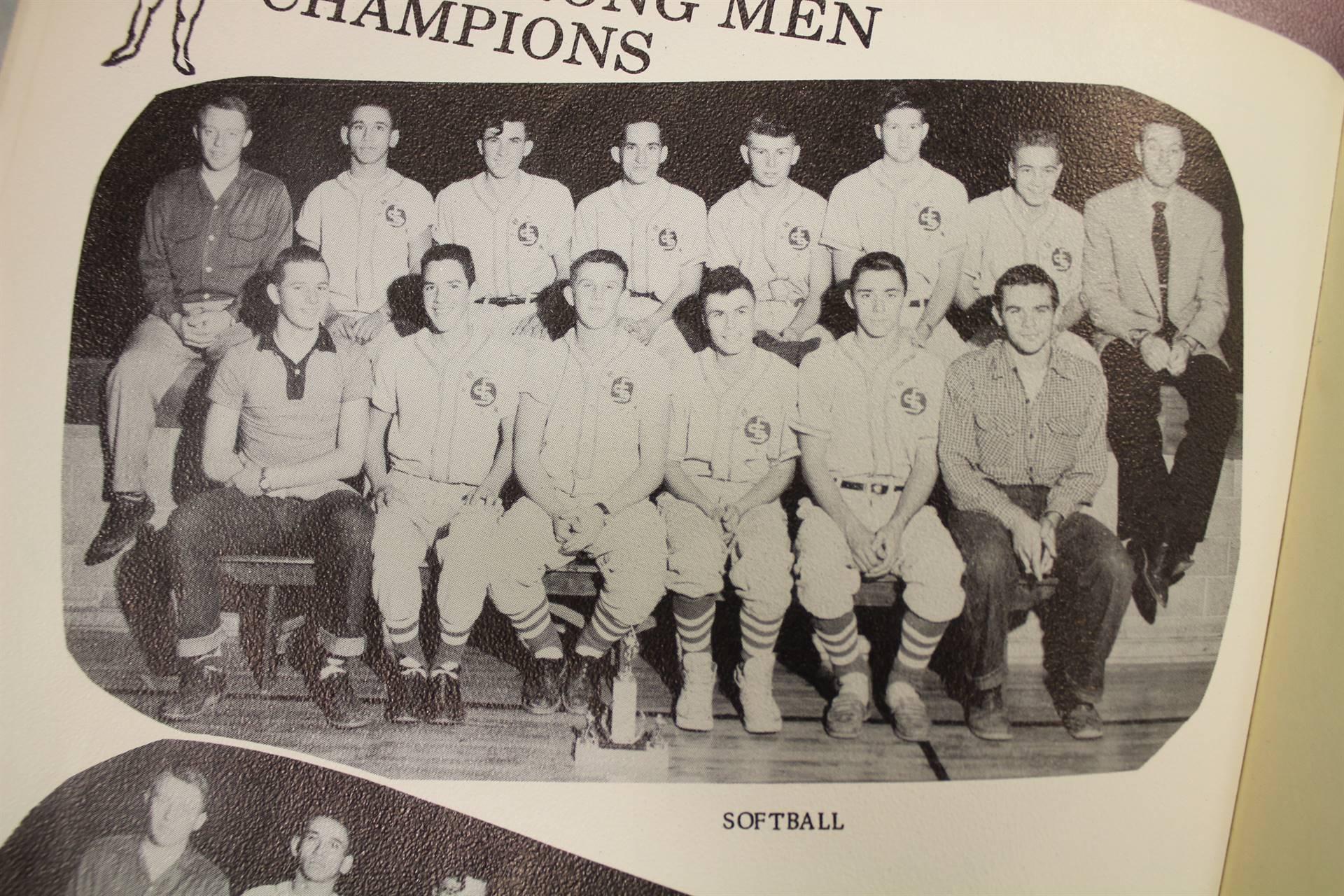 1955 Softball