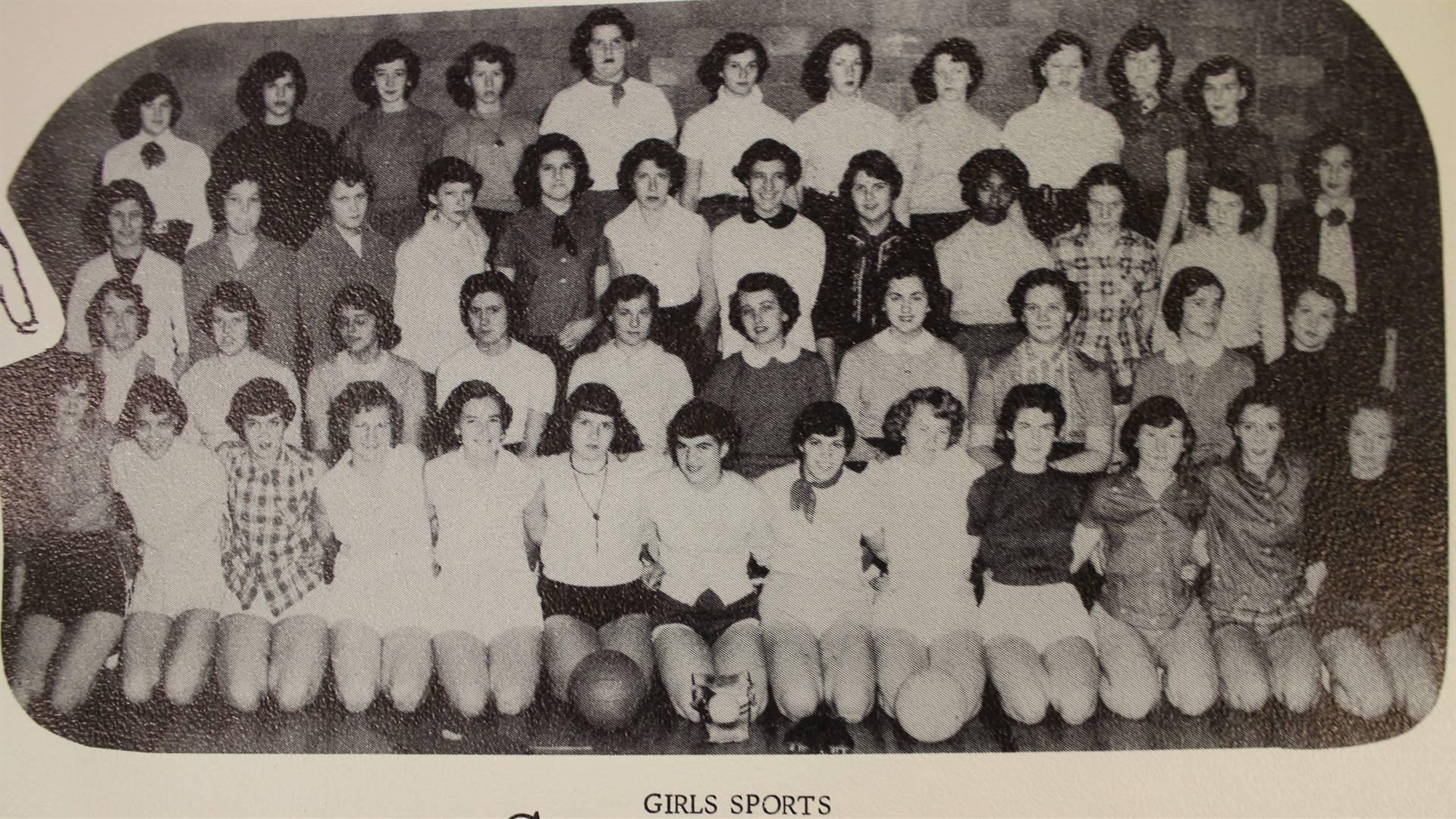 1955 Girl Sports