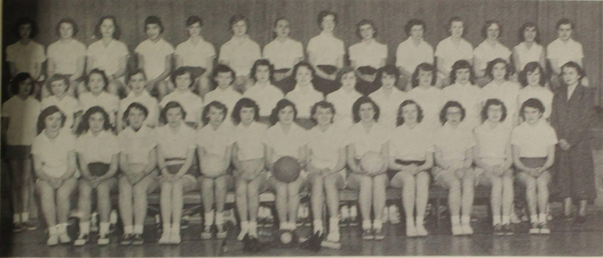 1953 girls sports