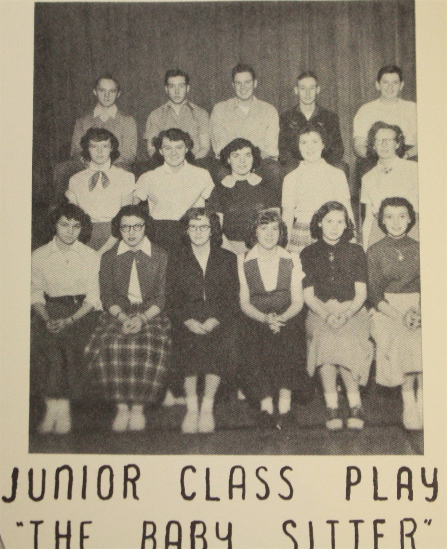 1953 junior class play