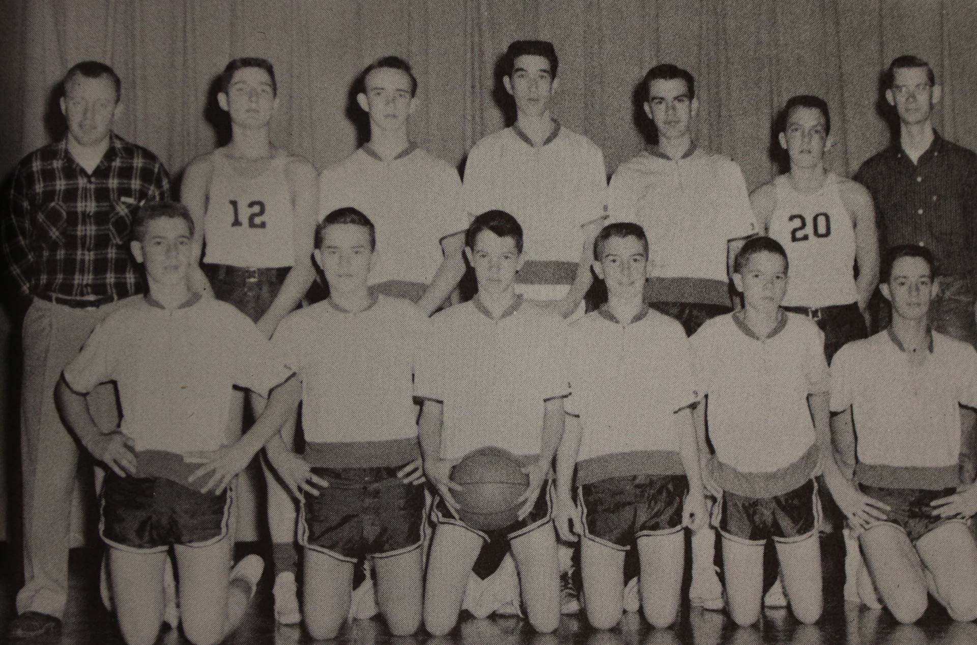 1958 Reserve Basketball
