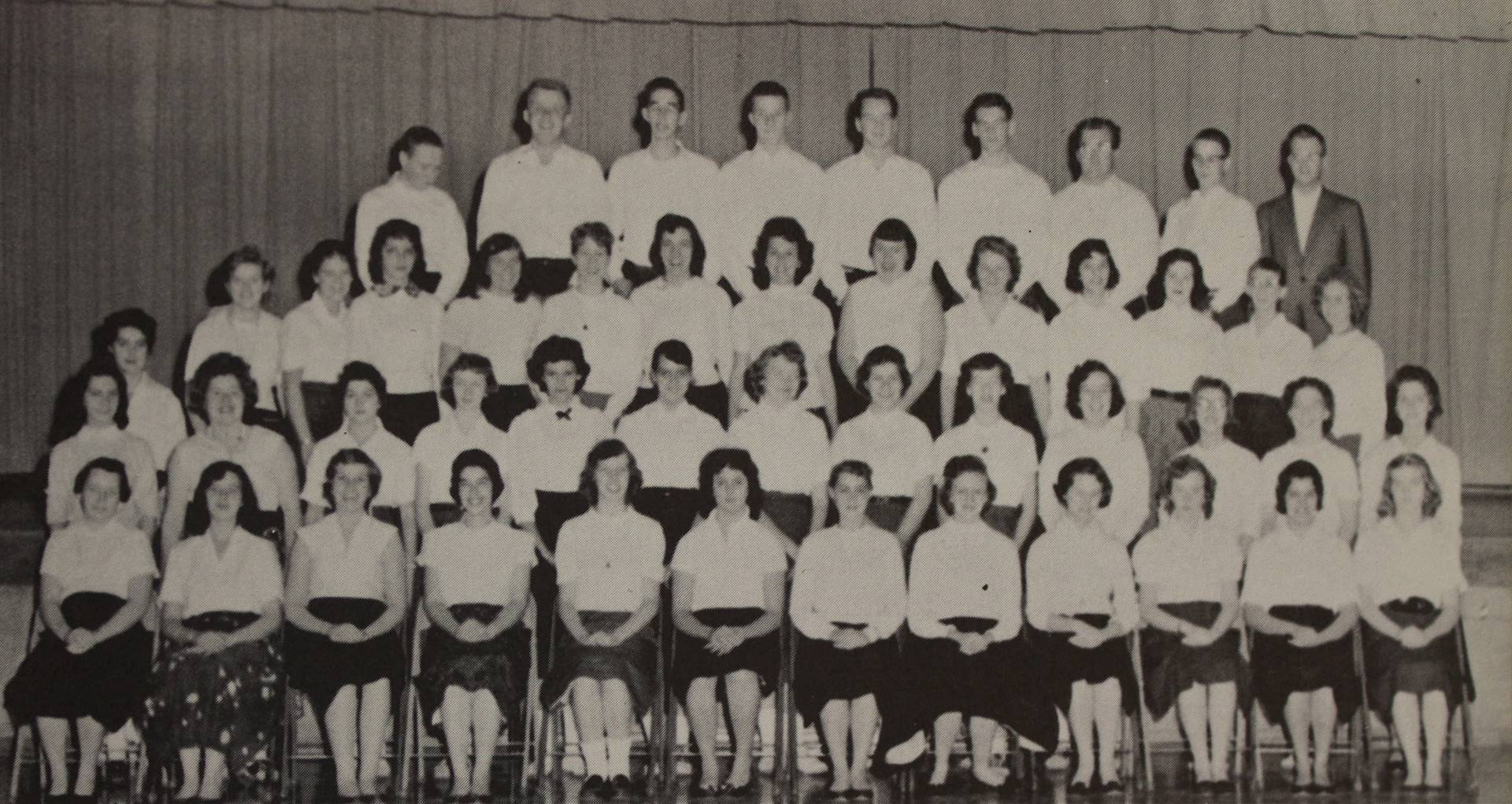 1958 Senior Choir