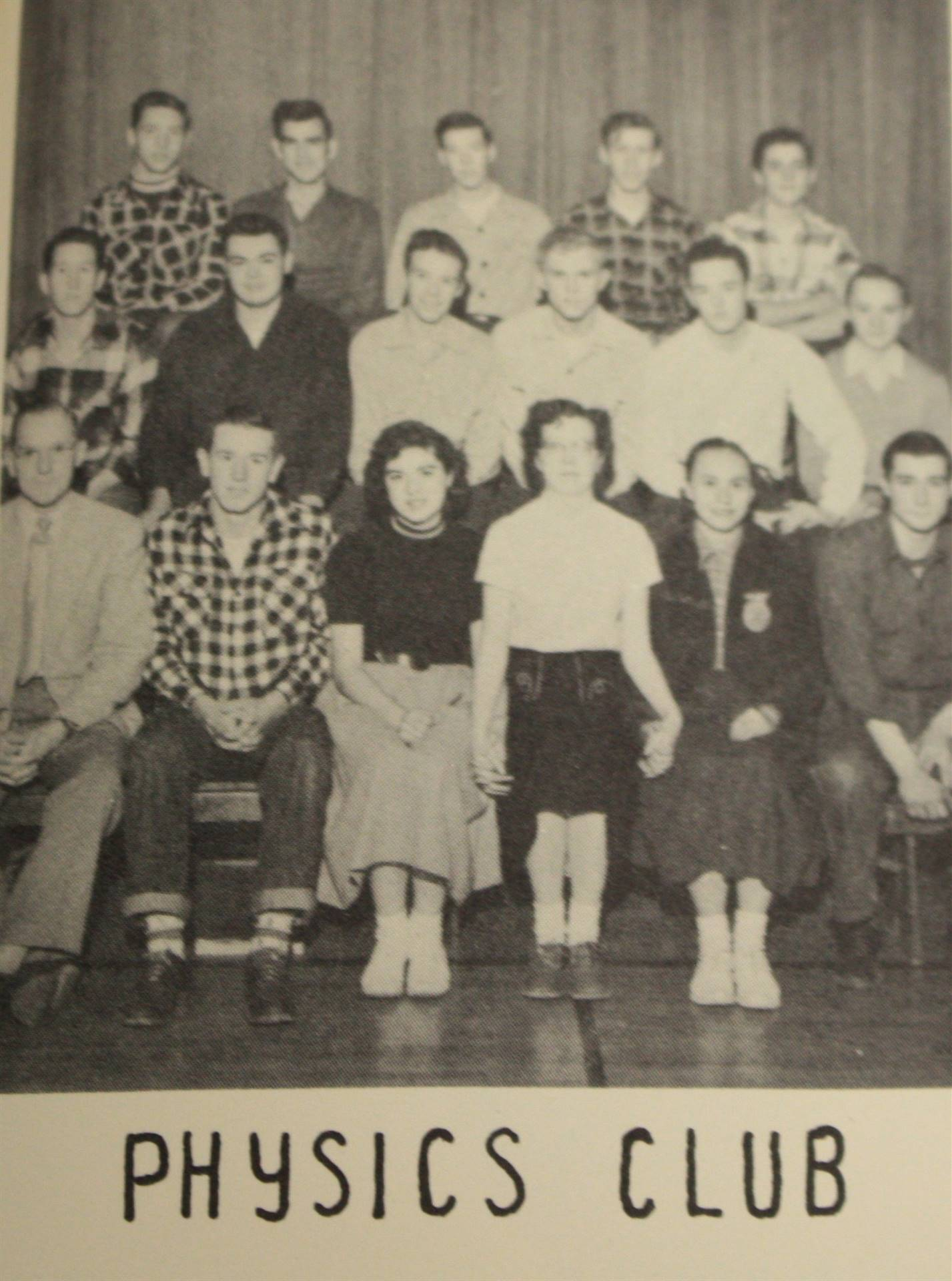 1953 physics club