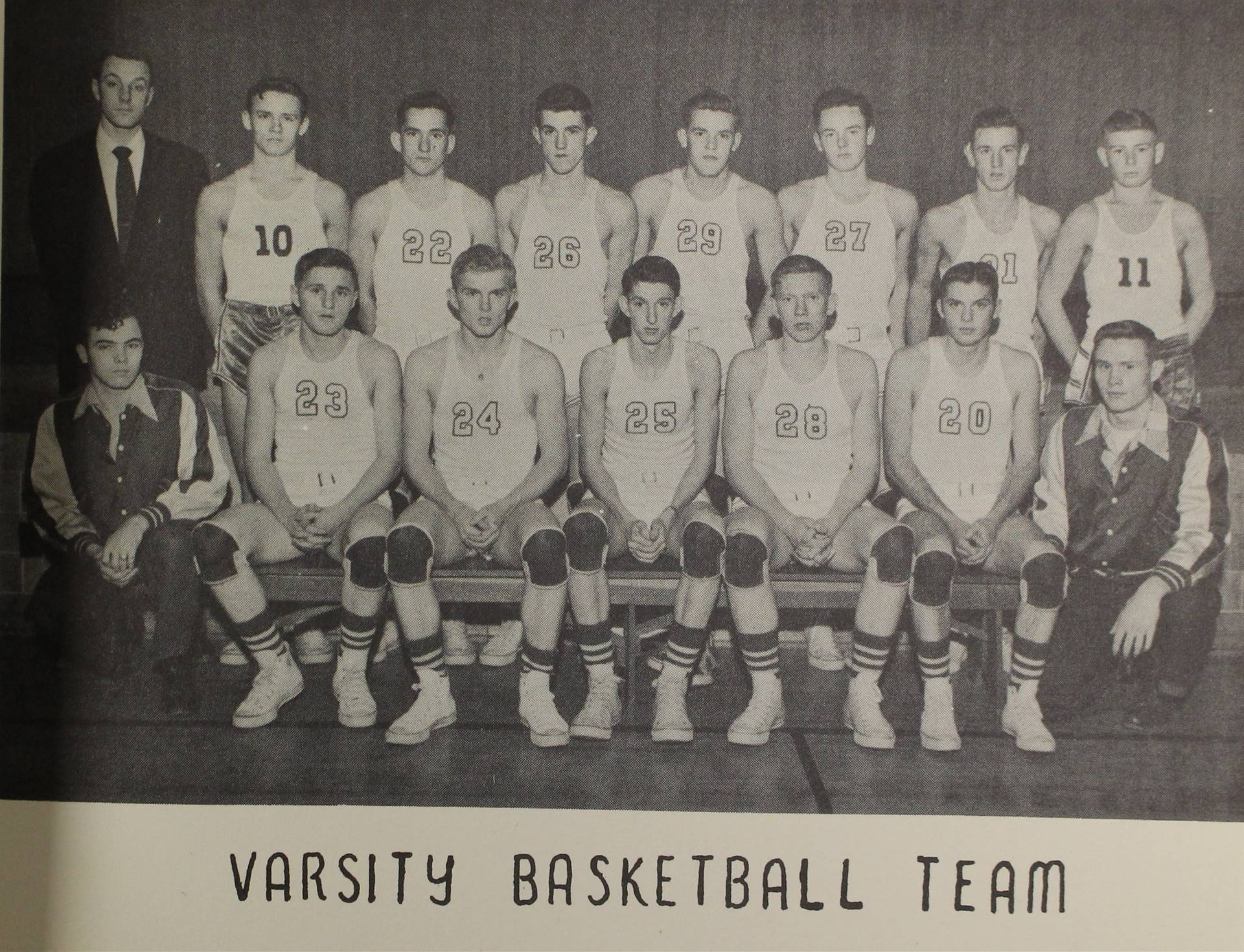 1953 varsity basketball team