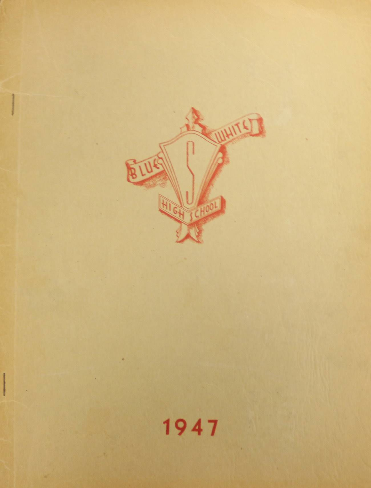 1947 Yearbook Cover