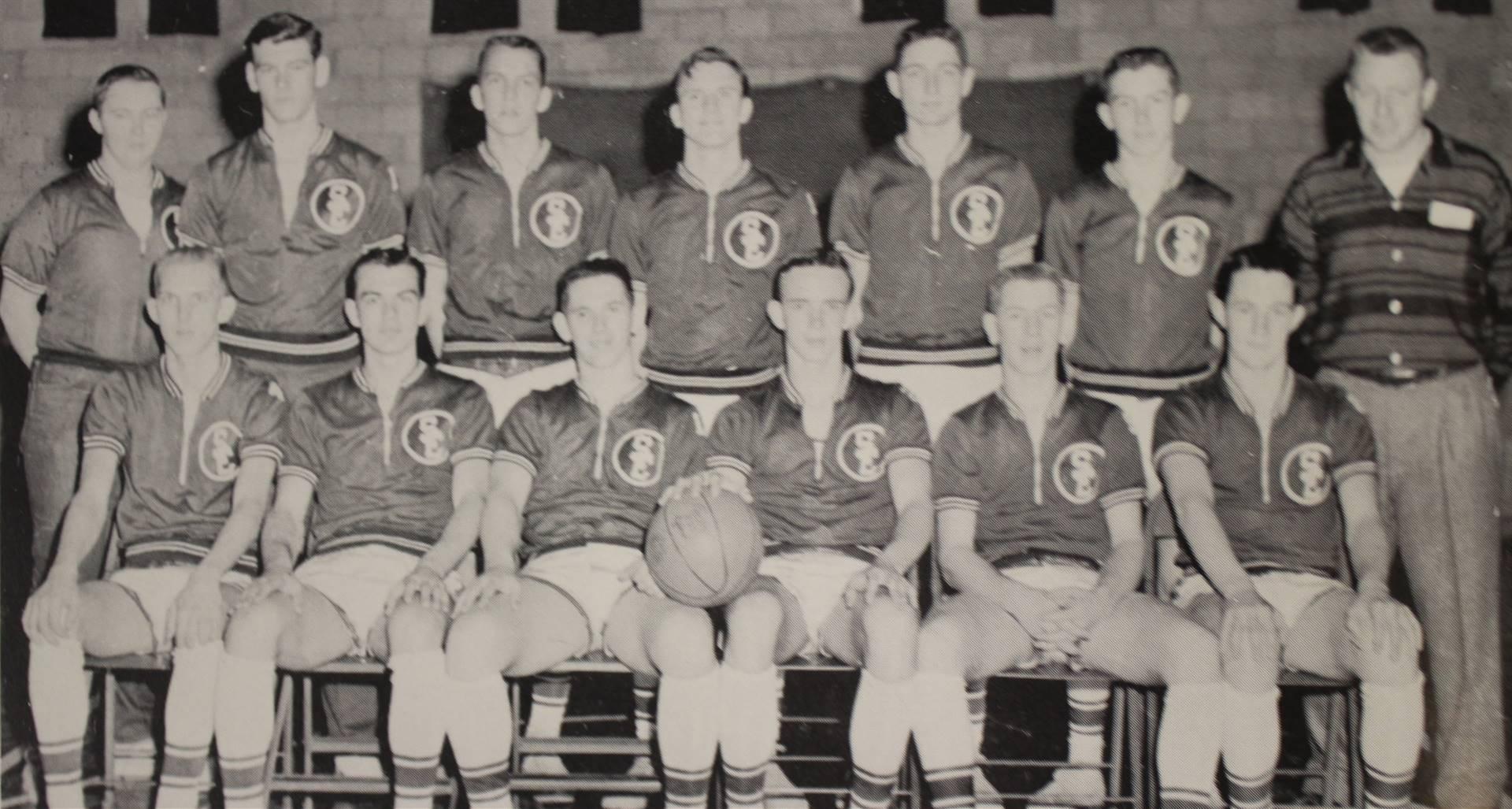 1959 Varsity Baseketball