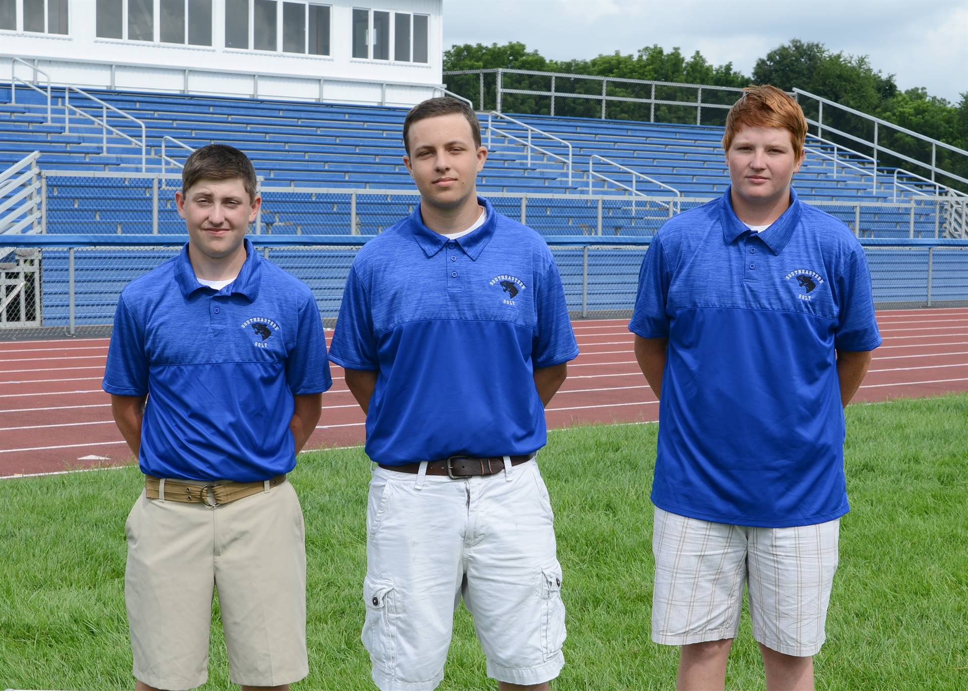 Golf Returning Lettermen