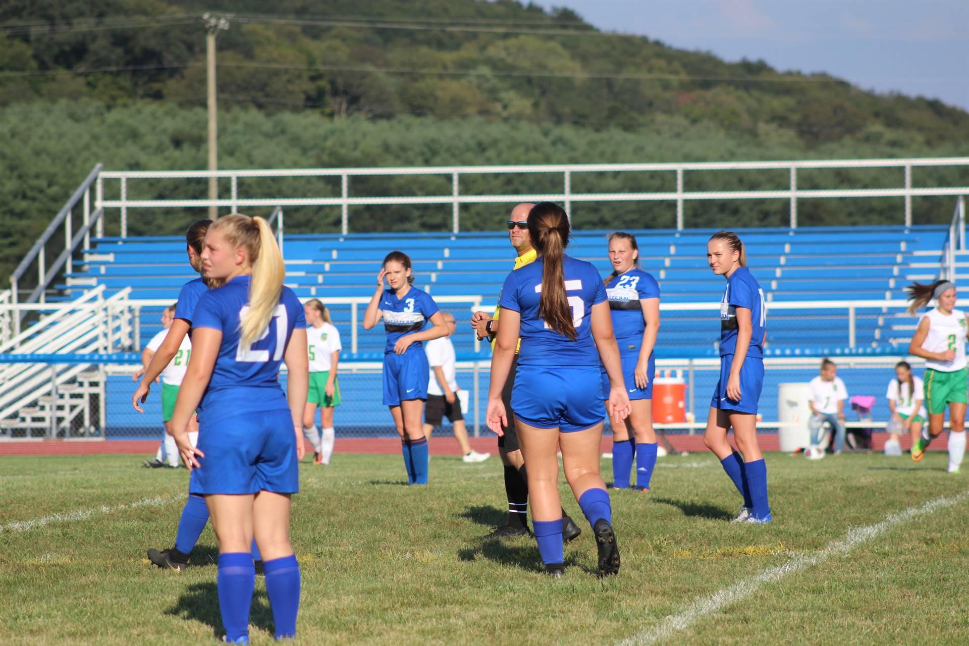 Girls Soccer vs West Union