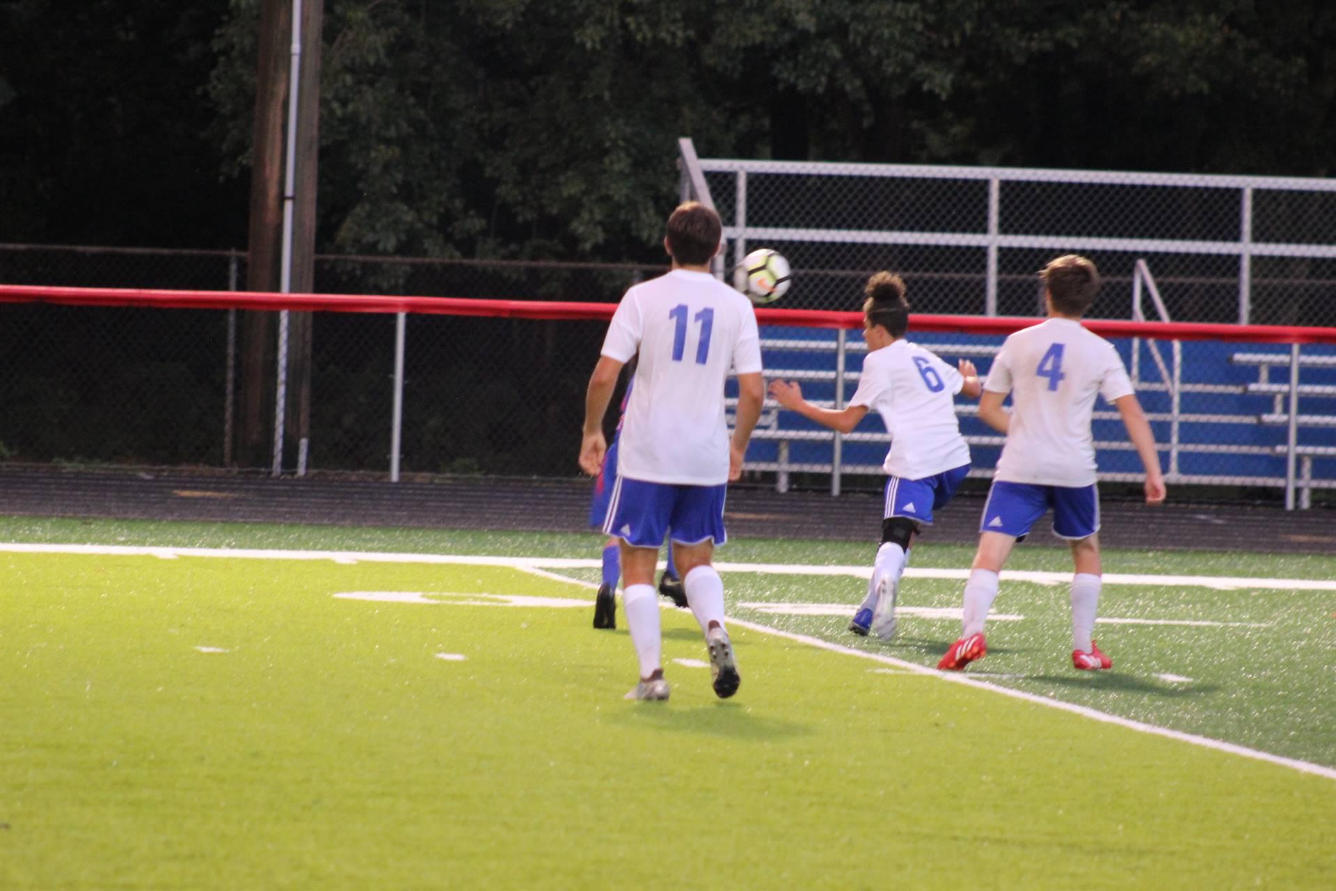 SE Boys Varsity Soccer vs Zane Trace